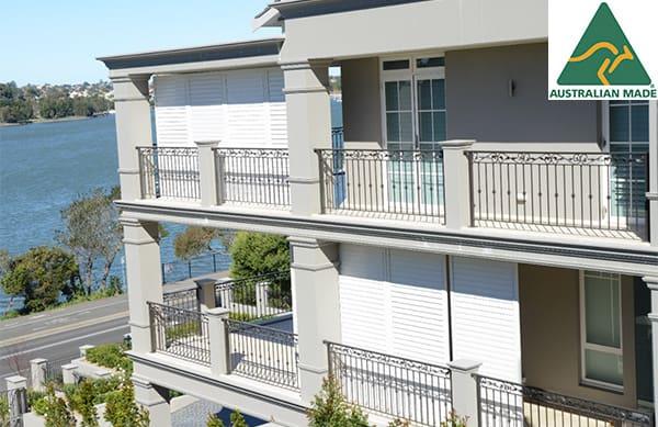 exterior aluminium shutters australia