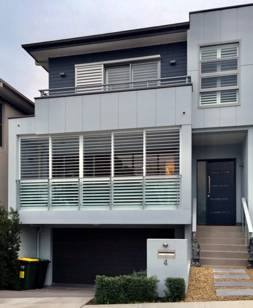 metal outdoor shutters